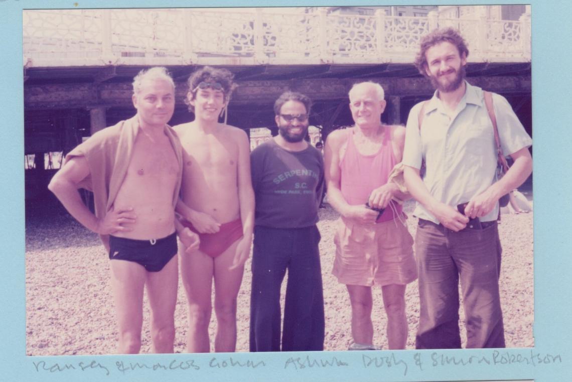 Brighton Pier to Pier race, 1976