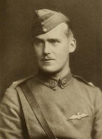 Captain Jack Oliver Cooper, 10 April 1896 - 21 July 1916.  Younger brother of Colin Cooper.