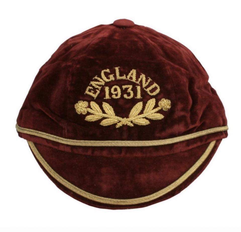 1931 GB International cap