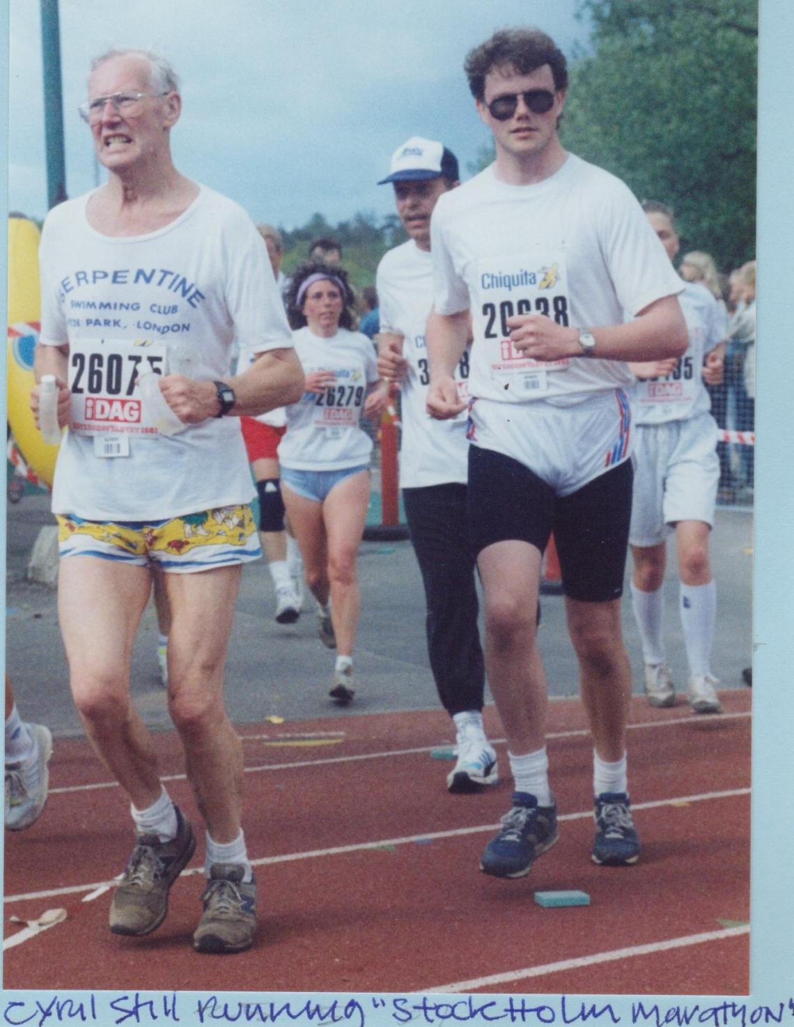 Stockholm Marathon 1991