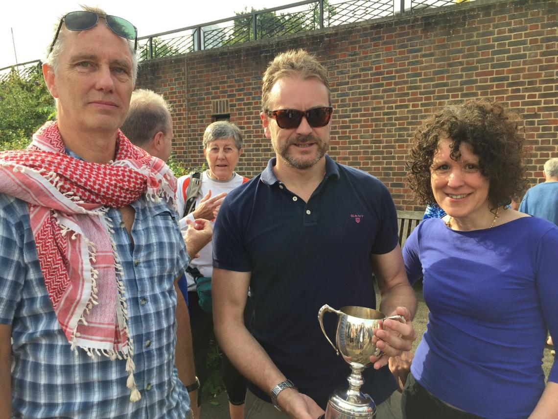 Paul wins Andean Cup prizes by Luckhurst family