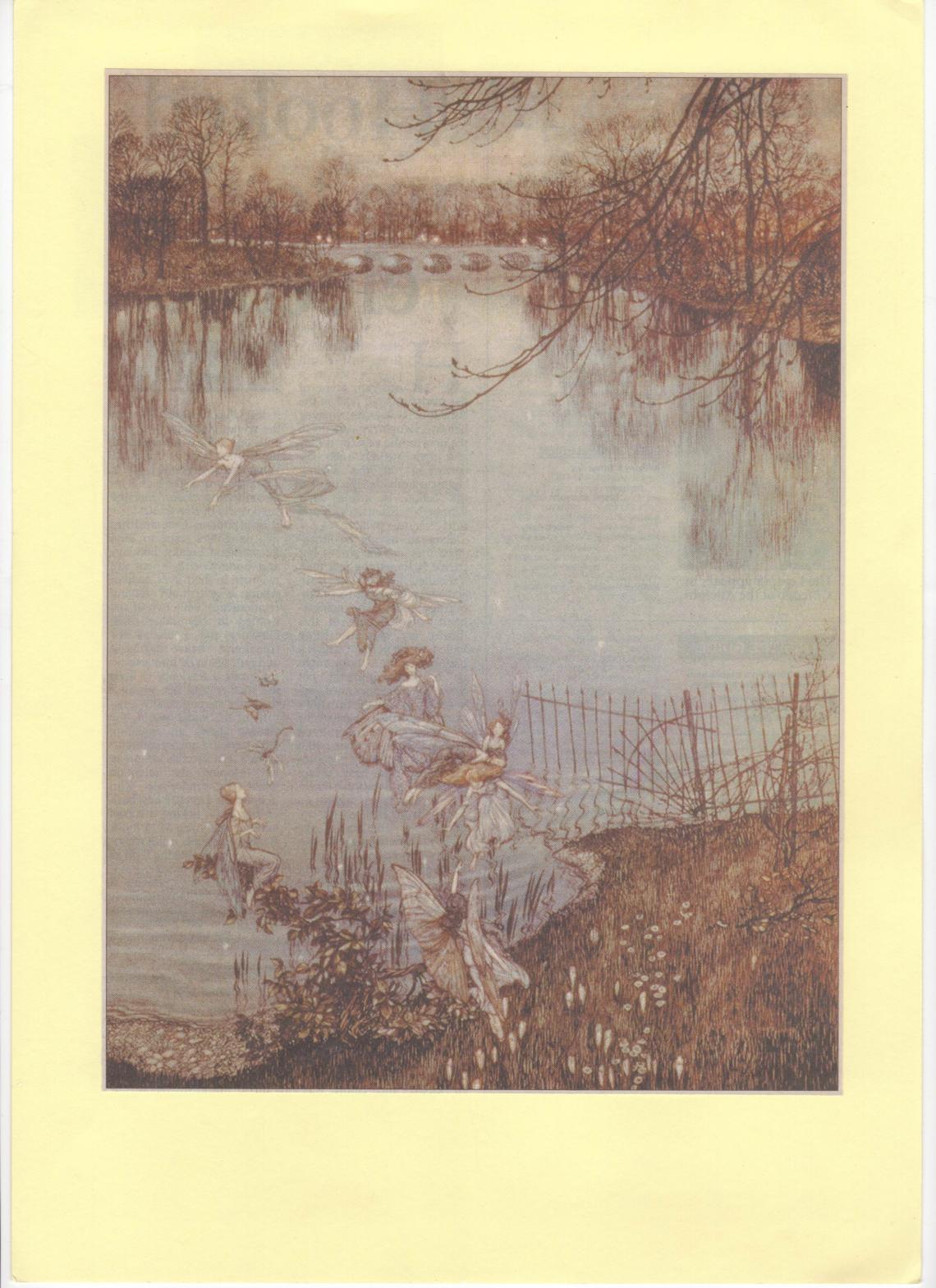 Fairies by the Long Water, Kensington Gardens