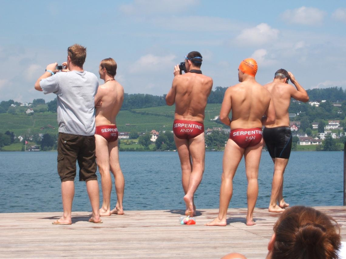 Zurich 2008.  There was more than one Serpentine relay team