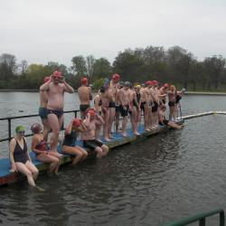 Start of Dave's 2012 race