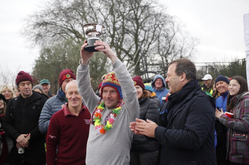 Today's race sponsor Paddy Boyce won the 2015 Peter Pan cup