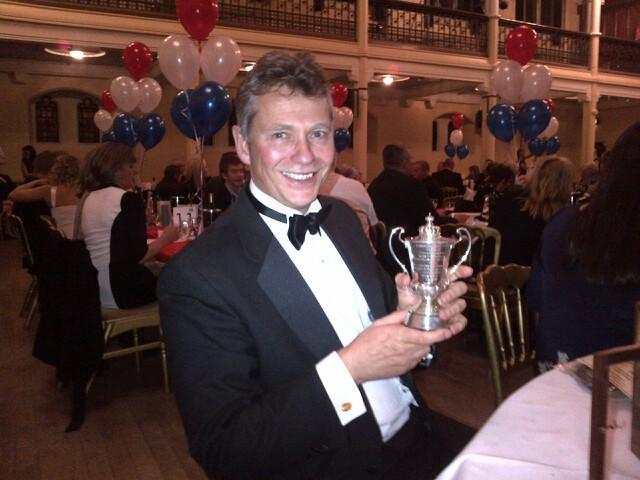 Rob was presented with a BLDSA award at the CSA dinner the following year