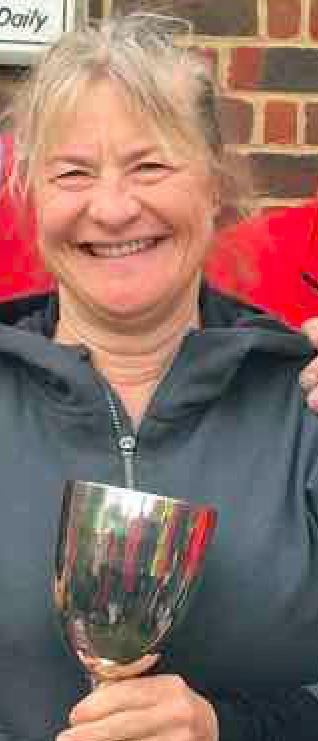 Liz Hurst more than a Quarter Champion