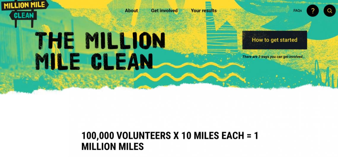 One Million Mile Beach Clean