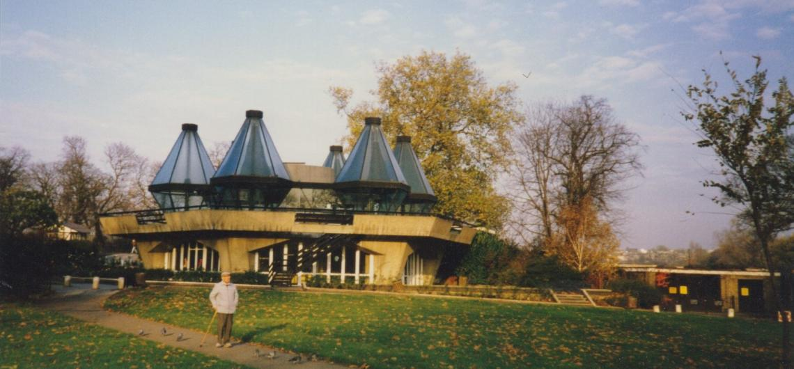 The Prue Leith restaurant replaced the Trusthouse Forte complex opened in 1964