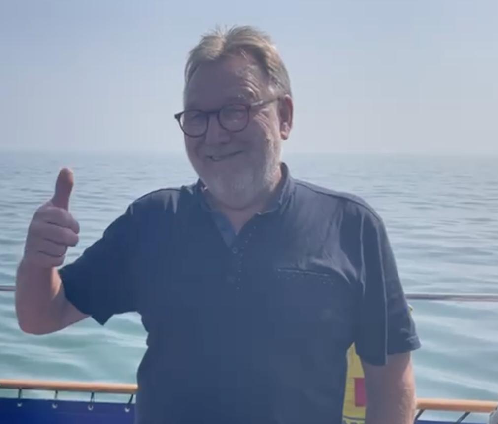 Skipper Paul Foreman says all looking good