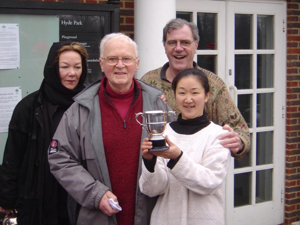 2004 winner, Yoko Reid