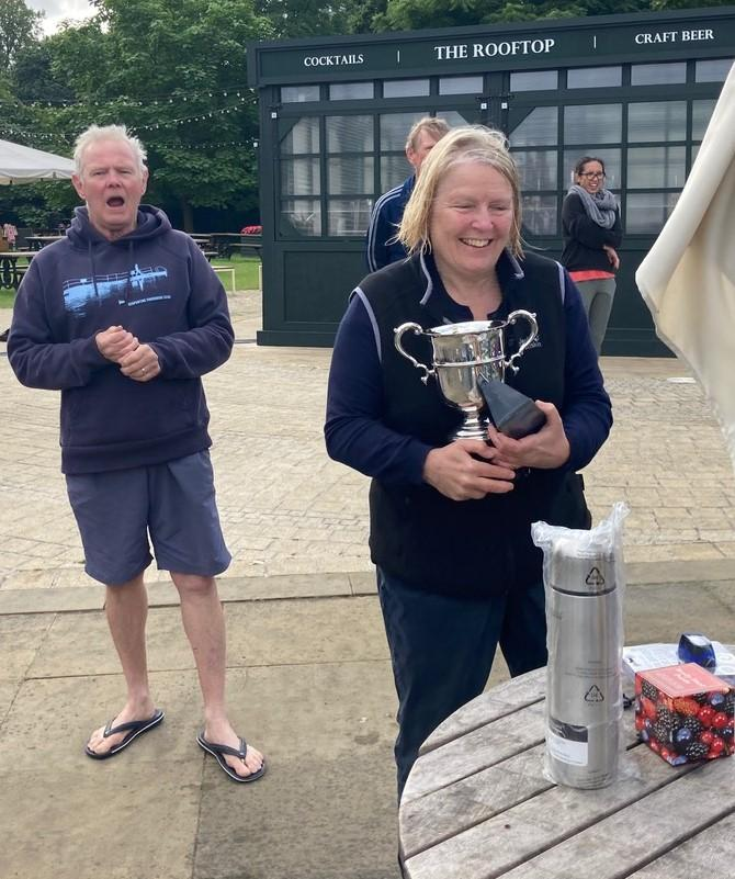 Nichola Sanderson won the George Brutton cup
