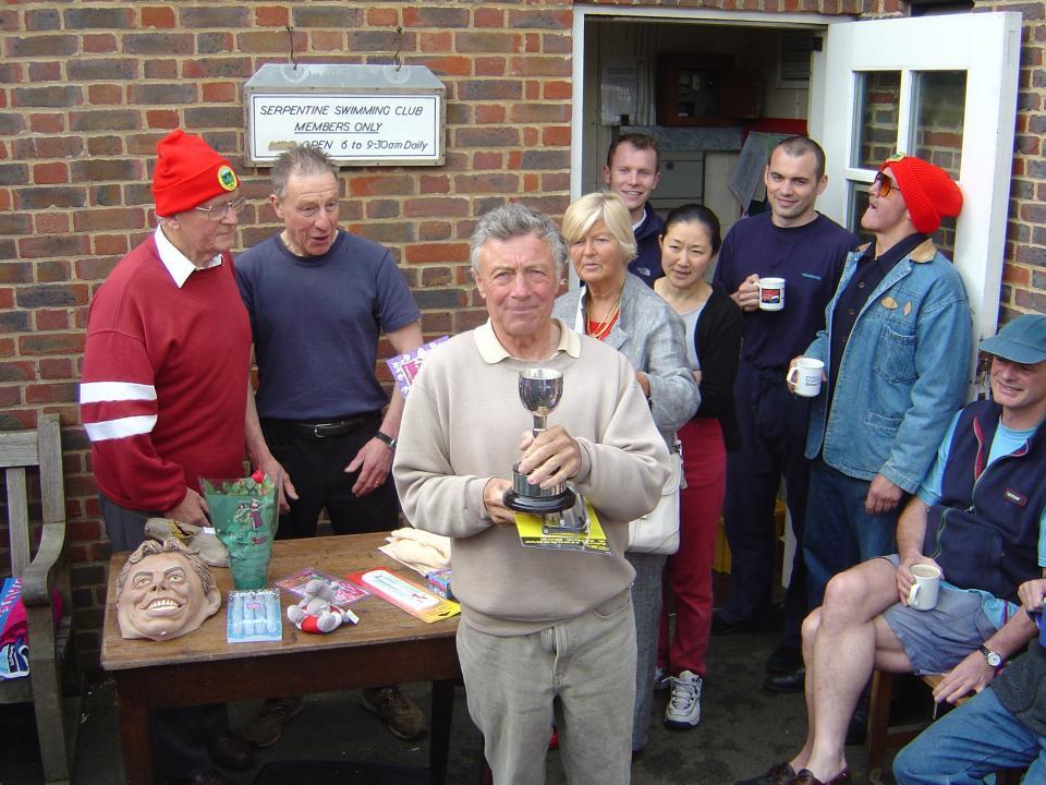2004 Bill Deeley first winner of the Bill Phipps cup