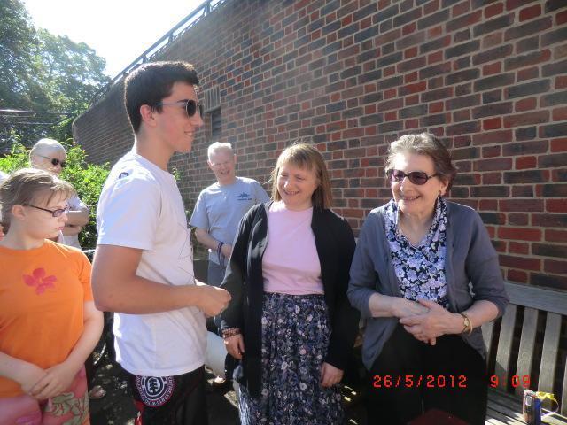 Matt Titmuss (Alan's middle grandson) was amongst the prize winners in 2012