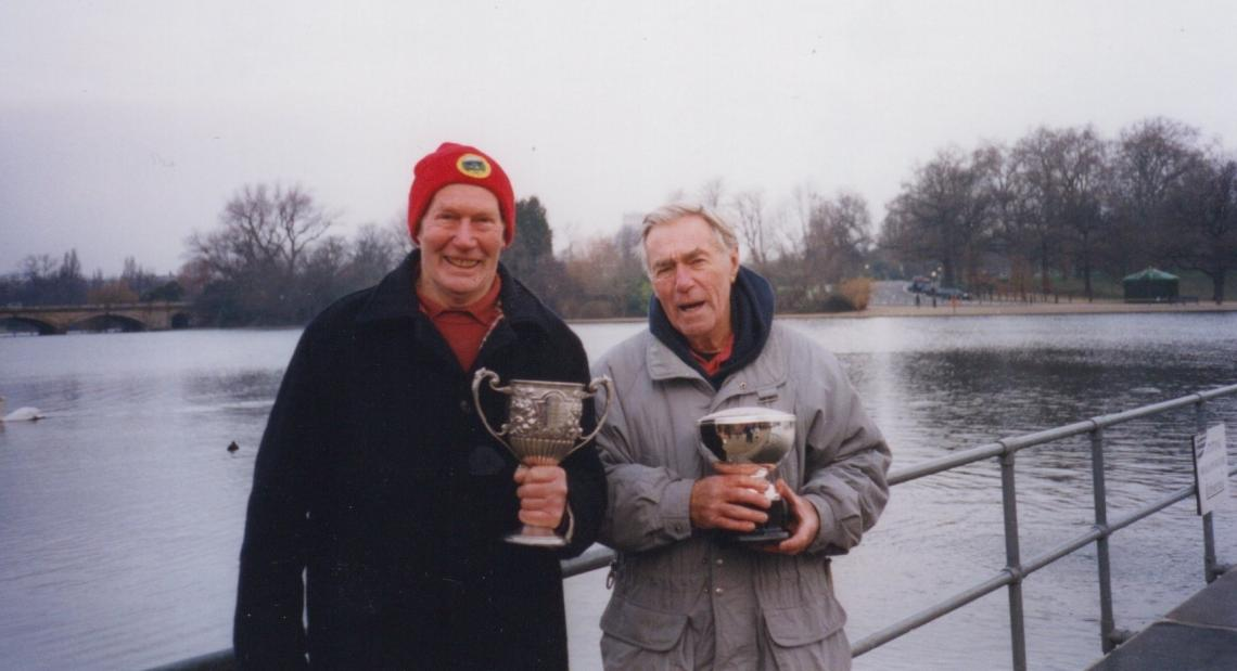 In 2003 Cyril won the Winter competition for the Fettes cup, whilst fellow octogenarian Alan Lacy won the Peter Pan cup