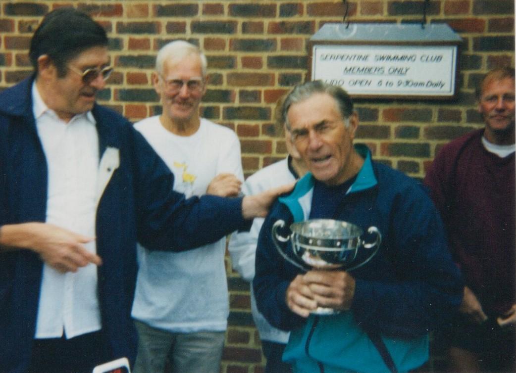 Alan won the Bridge to Bridge again in 1996