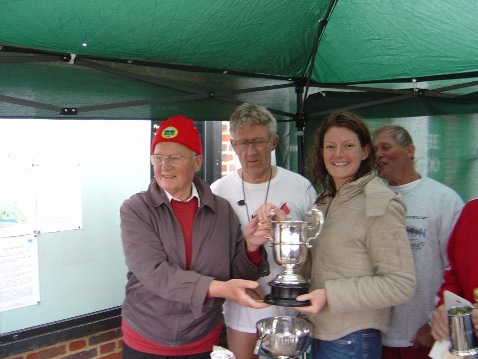 New member Anna was quick off the mark in gaining silverware and prizes