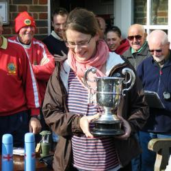 The 2011 race saw what we consider to be our youngest ever cup winner.  Laura Tomlinson came home first with but one week to go until the due date for the birth of her second son.