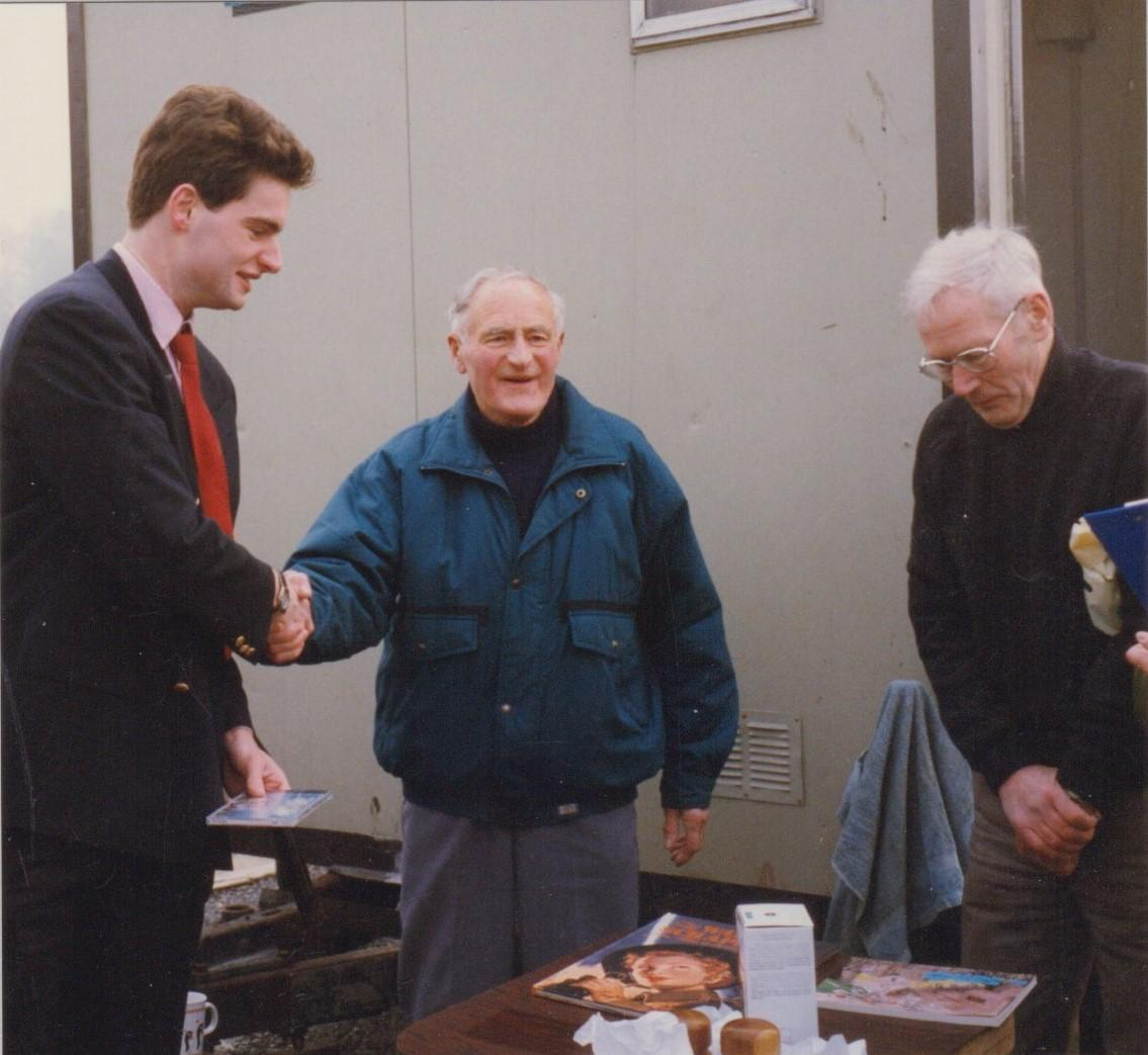 Nick Adams amongst the 1996 prize winners