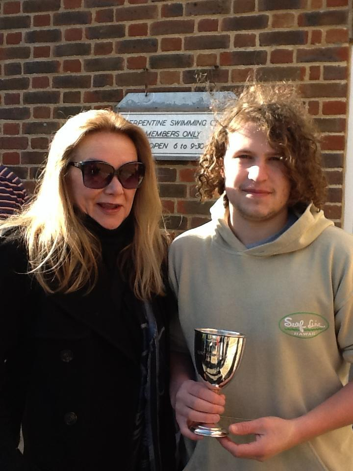 2013 winner Cameron Kelly