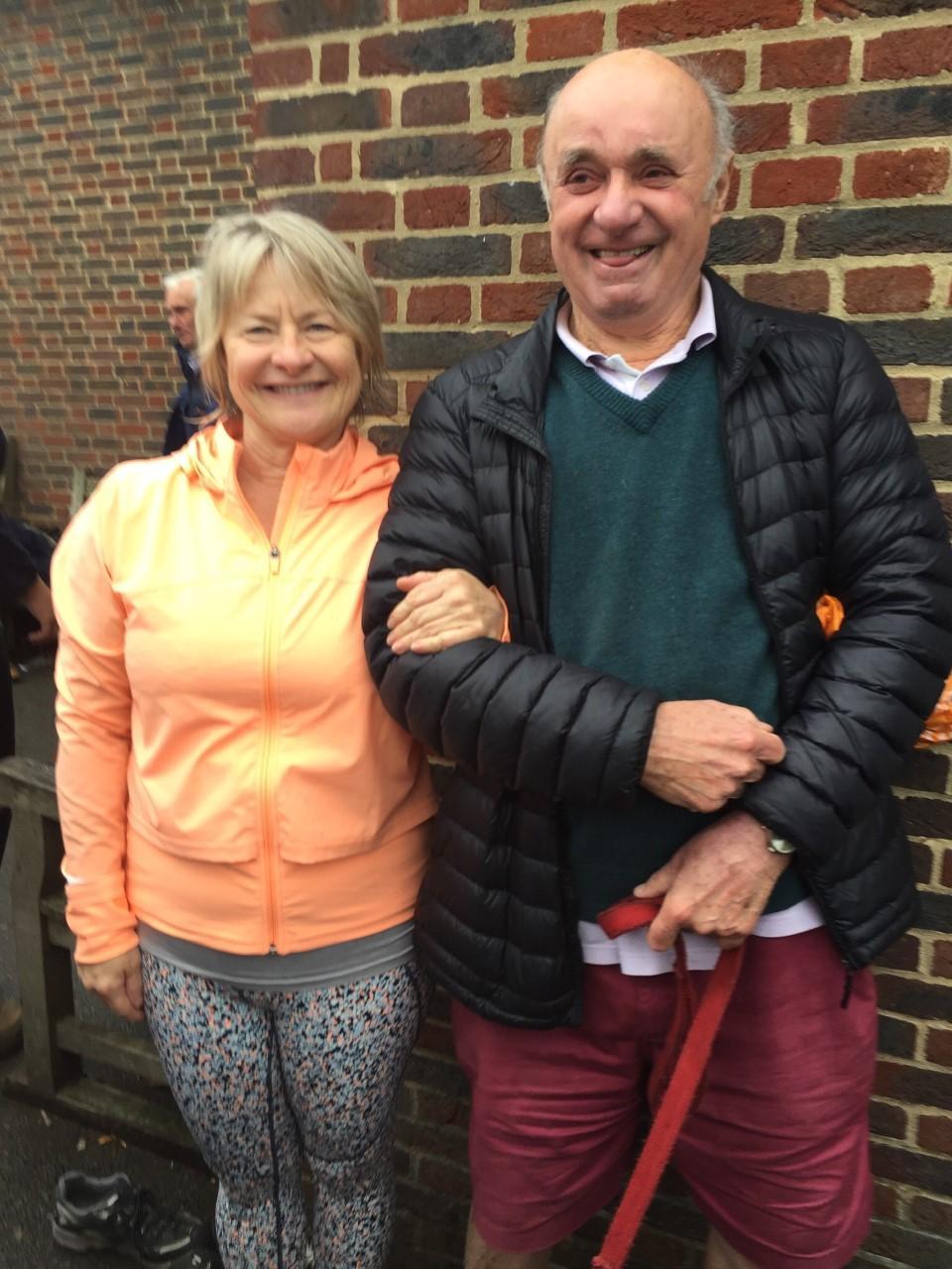 Liz Hurst with John Sextone