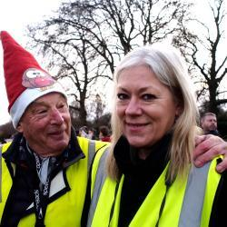 Over the past decade Ingrid and Jeremy have acted as official club photographers on Christmas morning
