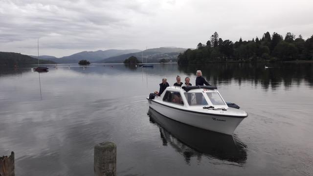 Lake Windermere swim success for four Serpentine swimmers