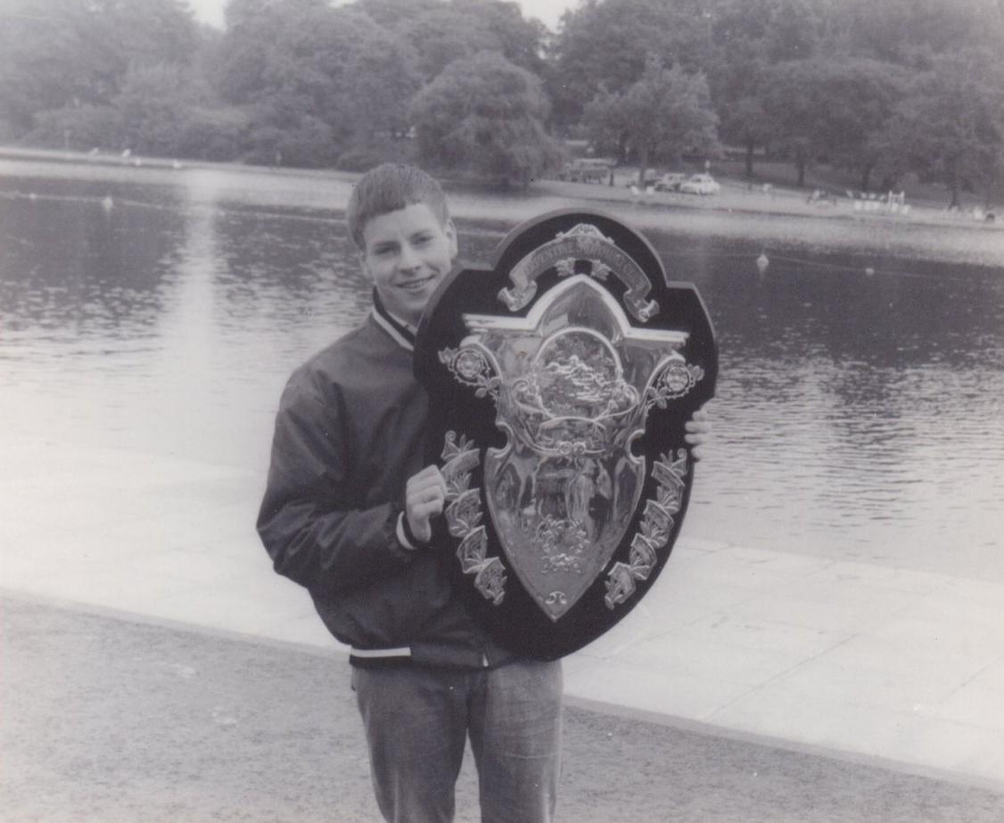 Tony Radford joined the club in 1963, aged 11.  He was club champion at 16, an honour he repeated well into the 1970s
