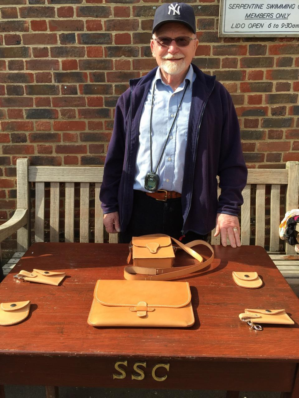 Alan Nash sponsored the race from 2011 to 2018.  His own hand made leather goods were always greatly appreciated prizes.