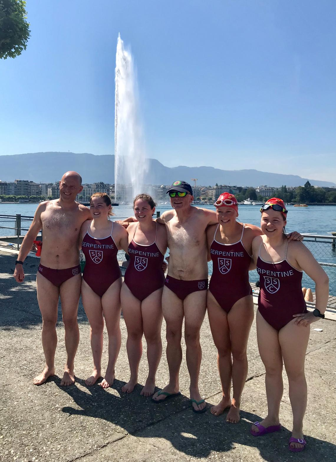 Serpies smash out Lake Geneva swim