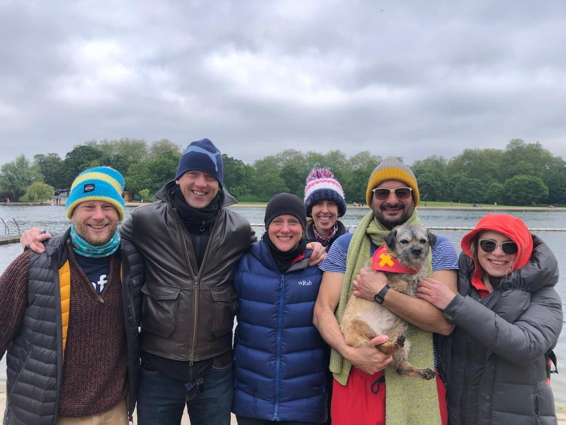 Successful first Serps relay swim of the English Channel of 2021