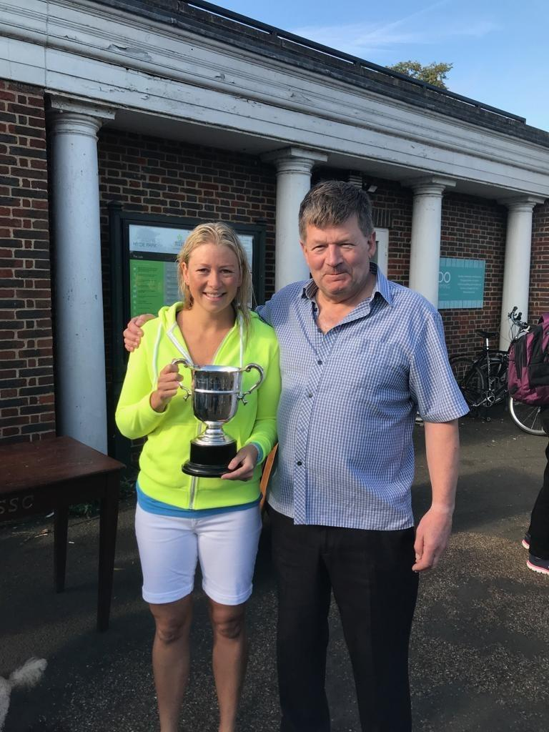 Katie wins George Brutton Cup