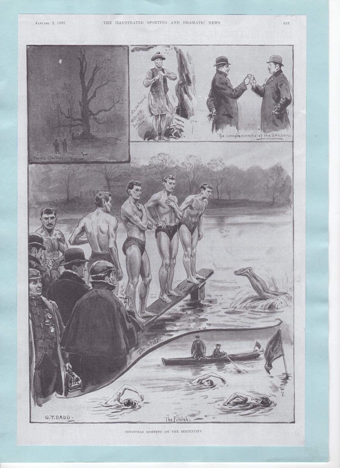 Christmas Day race, 1897
