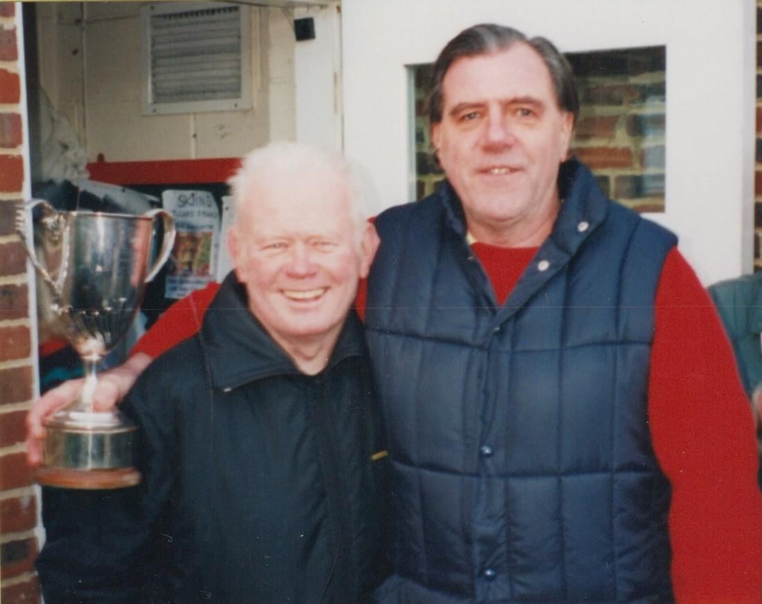 In his first year Tony won the Winter Competition for the Fettes cup, presented by Bob Kelly