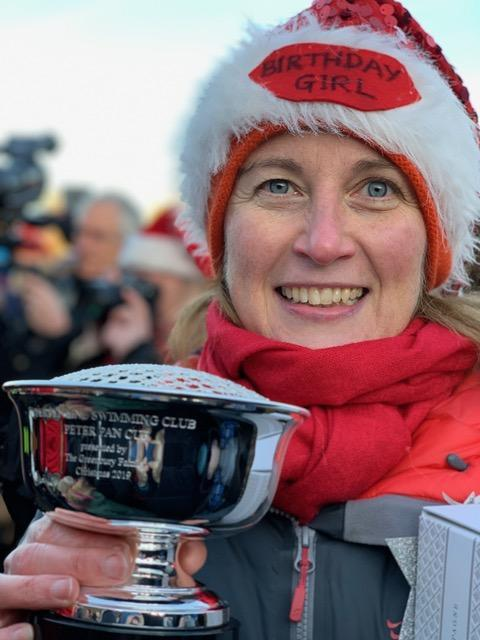With no race this year, 2019 winner Katherine Cselko still holds the Christmas honours
