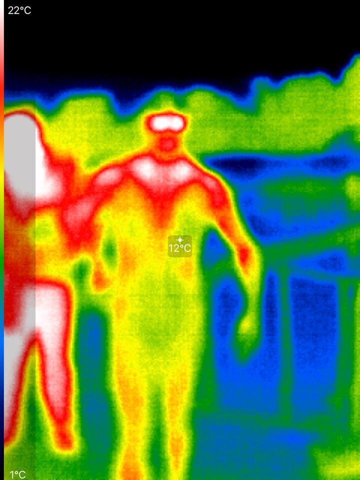 Dani Lobo infrared
