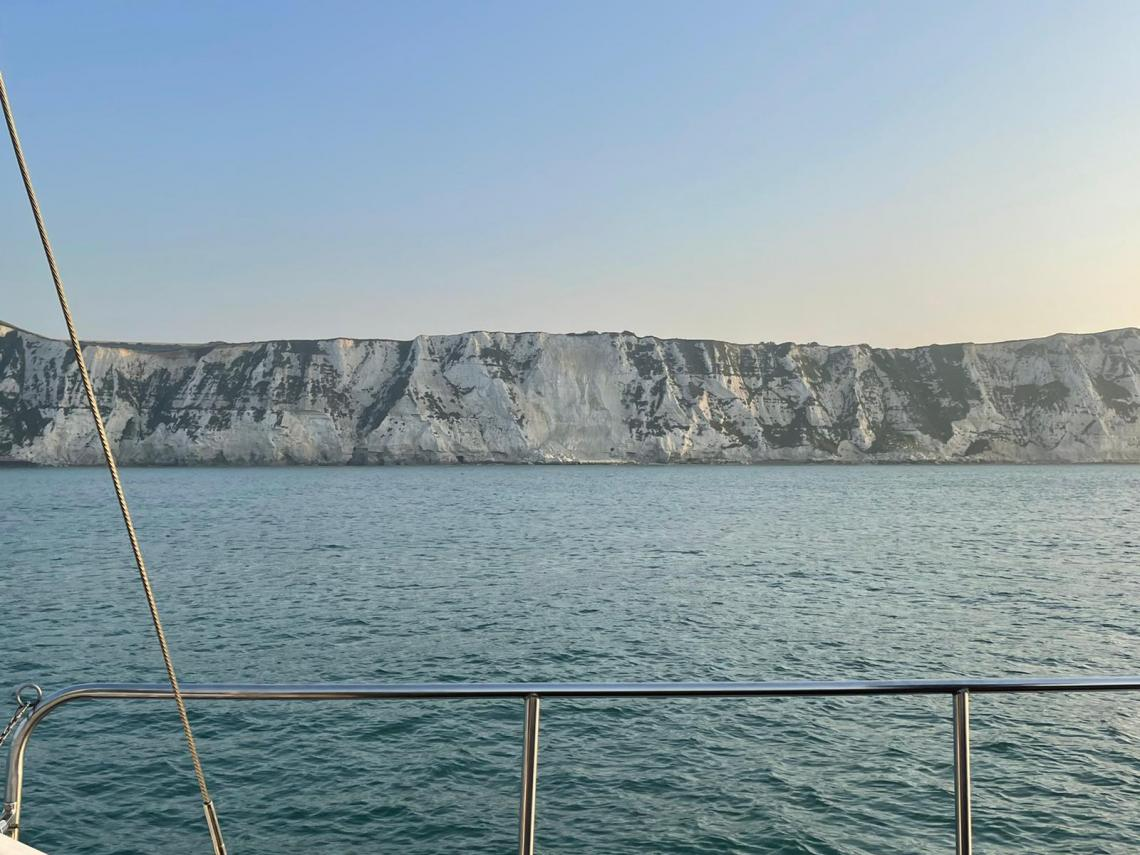 Dover looking distant
