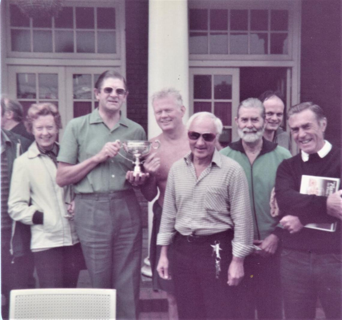 1982 winner Ron Hamill