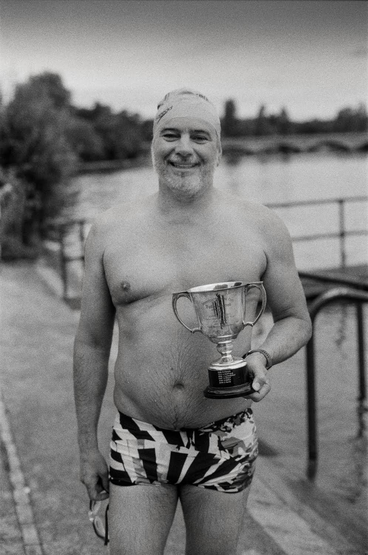 Robert Fisher, winner of the 2021 Arthur Hester memorial race