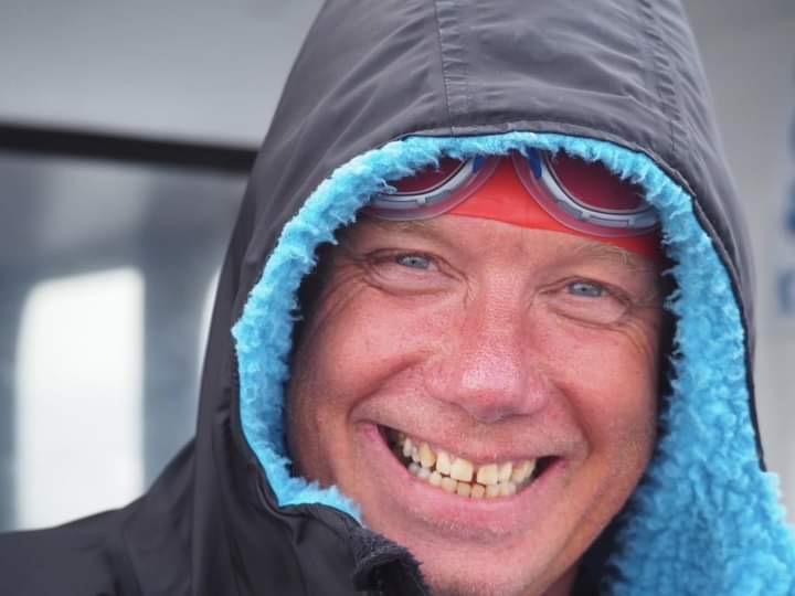 Jon Southey three times an English Channel solo swimmer