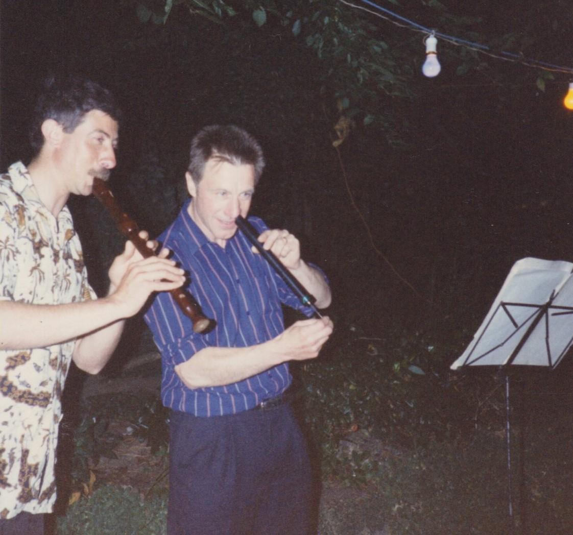 Such a virtuoso performance merited a return invite in 1986