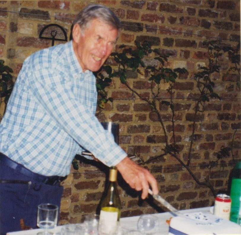 In 1998 Alan celebrated his 50 years with the club.