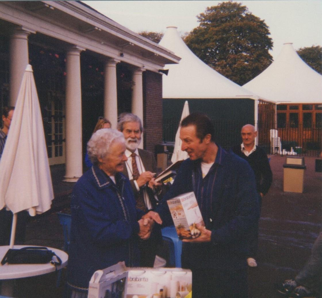 Sid Stovold died in 1962.  Gladys returned every year up to 2010 to present the cup in his memory
