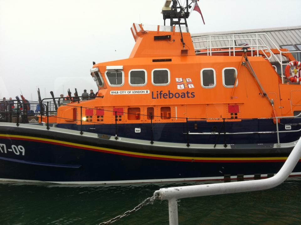 Dover's RNLI Class Severn lifeboat
