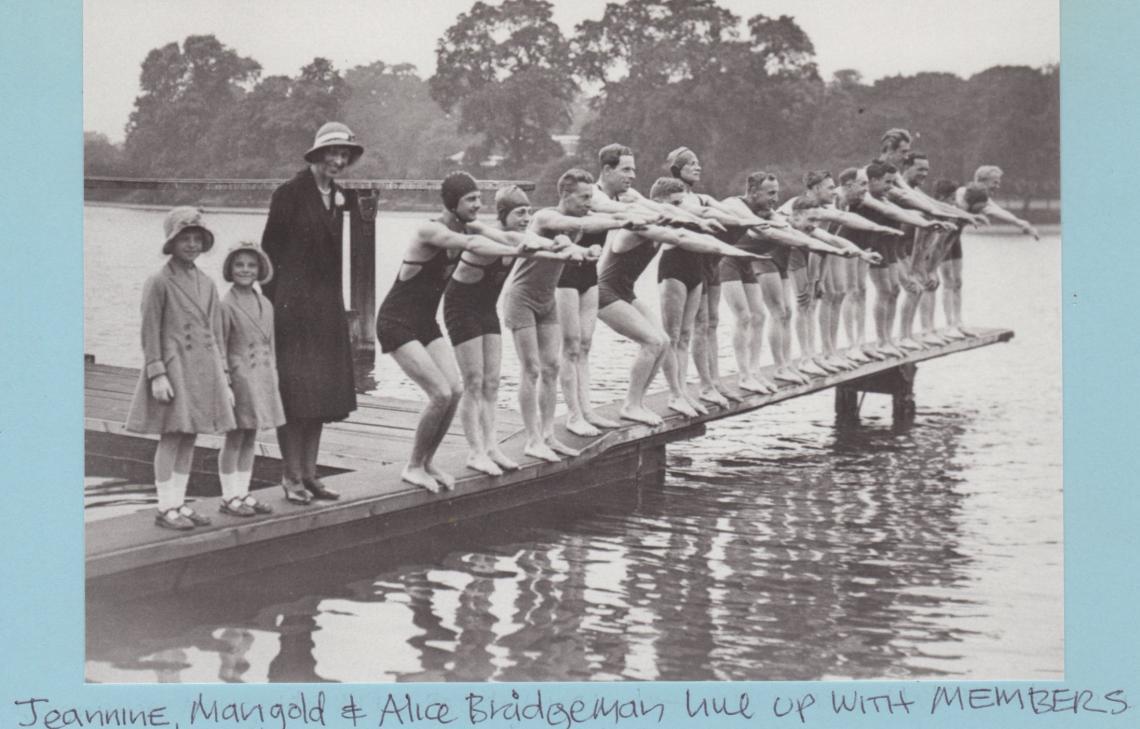 1931, the first Paul Bridgeman team race