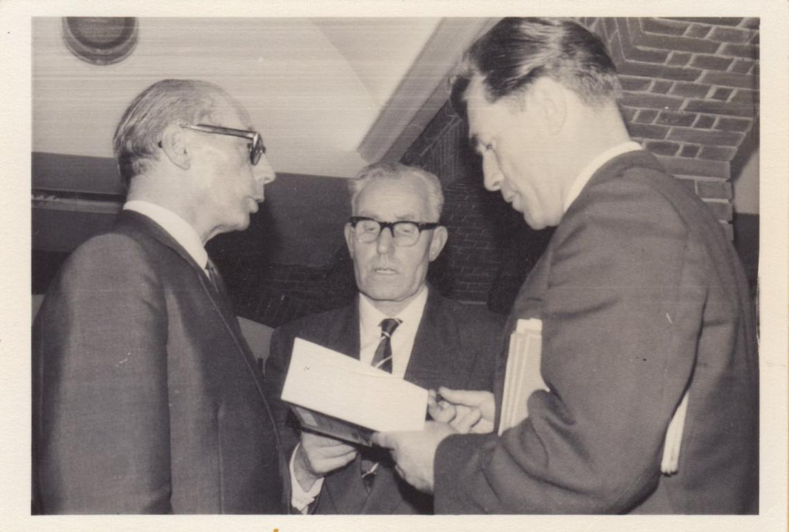 Maurice with Sid Levy and Alan Lacy at the 1964