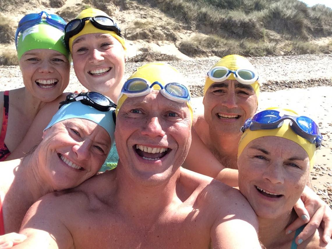 Lakeside Allsorts are successful English Channel Relay Swim Sports