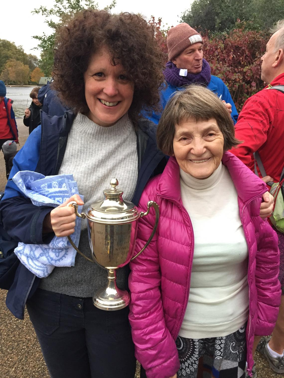 Linda wins the Emmi Hunte Cup