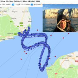 Two-way English Channel crossing, 24 August 2016