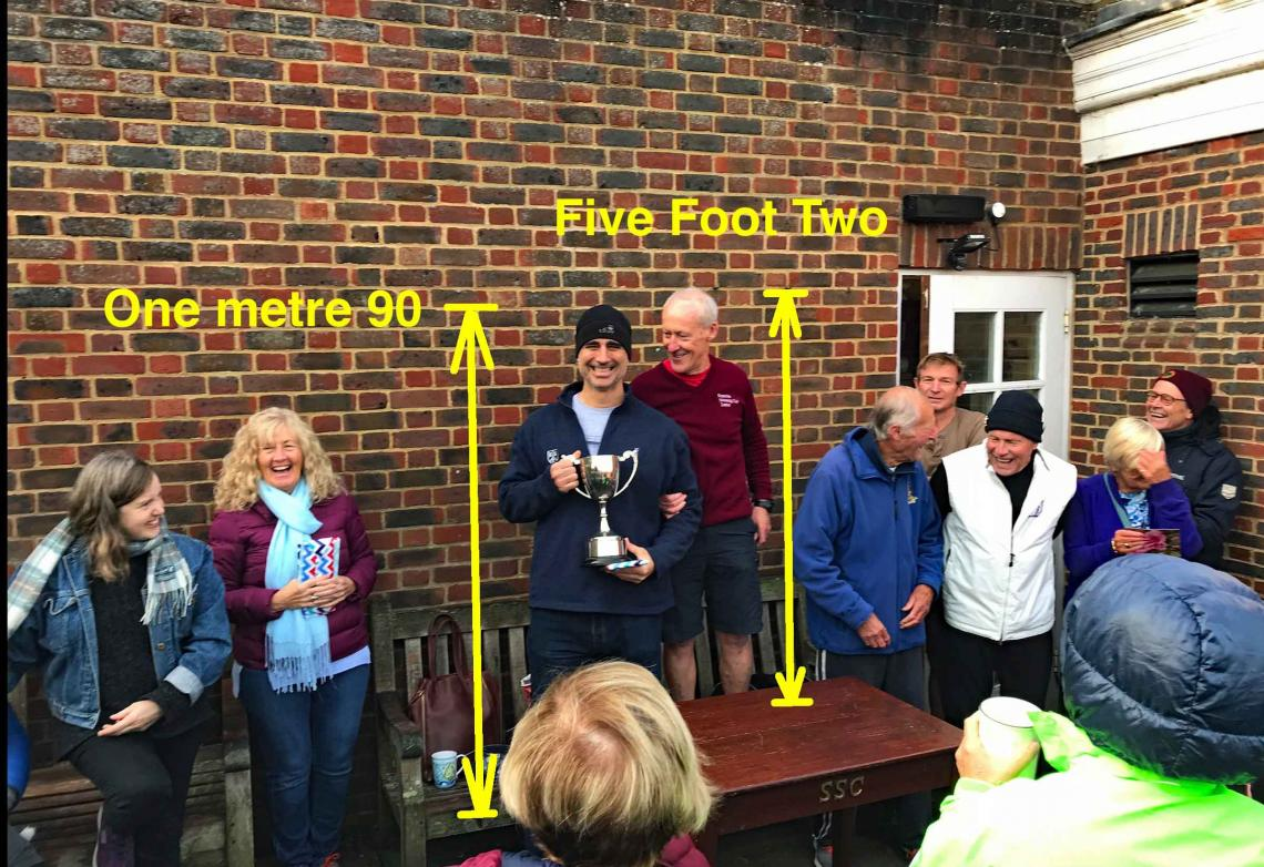 Boris wins Two Ronnies Cup